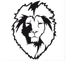 Lion tattoos symbolize all the virtues and meanings related to the lion. Here are some design ideas to choose from. Lion Head Tattoos, Mens Lion Tattoo, Black And White Lion, Diy Screen Printing, Cool Tats, 2d Art, Decoration, Tattoos For Guys, Mosaic