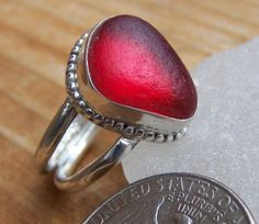 Santa Cruz Sea Glass-Love this ring!!!!