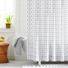 Because even your shower curtain can be fashionable