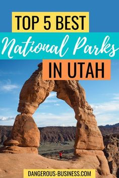 The Mighty Five, A Guide to Utah's Best & Most Scenic National Parks! The US is full of national parks, but Utah is home to the most beautiful. Utah's National Parks are great for a road trip or for adventure with kids! We know the best time to visit & what to expect. Here are 5 of the best Utah national parks to add to your bucket list!   #usatravel #nationalparks #utah #zion #arches Capitol Reef National Park, Us National Parks, Zion National Park, Places To Travel, Travel Destinations, Places To Visit, Romantic Weekend Getaways, Family Road Trips, Ultimate Travel