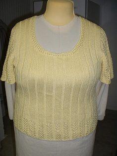 347903d0ef Incredible Custom-Fit Raglan pattern by Pamela Costello