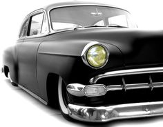 flat black...Re-pin...Brought to you by #ClassicCarInsurance at #HouseofInsurance in Eugene, Oregon