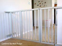 DIY Baby Gate.
