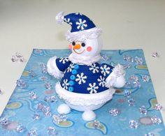 Quilling art Decor bonhomme de neige vacances bonhomme bonhomme de neige…
