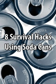 Survival Life compiled 8 videos that show you how to make things like lamps, torches, whistles, hooks, and more out of soda cans.