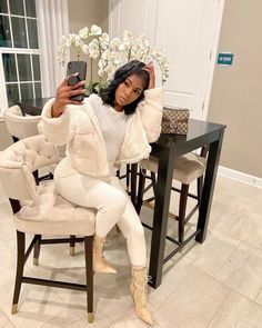 Boujee Outfits, Outfits Mujer, Cute Swag Outfits, Stylish Outfits, Classy Fall Outfits, Black Girl Fashion, Look Fashion, Fashion 2020, Winter Fashion Outfits