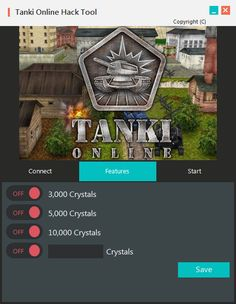 The fastest, easiest way to get Tanki Online Hack Unlimited Crystals is from presented on this website. Updated version of Tanki Online Hack Unlimited Crystals running up to date.