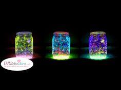 4 Step To Create DIY Mason Jar Fairy Lights. 4 Step To Create DIY Mason Jar Fairy Lights . Use glow in the dark fabric paint, make a layer Pot Mason Diy, Mason Jar Crafts, Mason Jars, Fairy Glow Jars, Mason Jar Fairy Lights, Glow Stick Jars, Glow Sticks, Fairy Lanterns, Lanterns Decor
