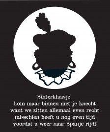 Sinterklaasliedje met Zwarte Piet