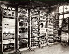 Early electronic computers, developed around the 1940's, were the size of a large room and consumed huge amounts of electricity. They were vastly different to the modern computers we use today, especially when compared to small and portable laptop computers.- Selpore IT - Google+