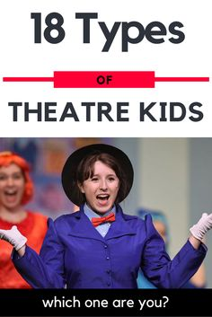 """The Jokester"", ""The Annoying Talent""? See all @ http://theatrenerds.com/18-types-of-theatre-kids/"