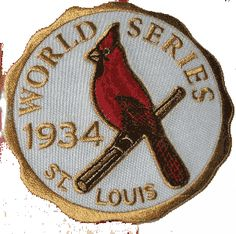 1934 World Series Championship Logo