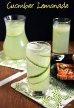 Cucumber Lemonade | Summer Drinks Recipes ~ Indian Khana