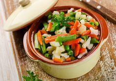 Verduras al vapor