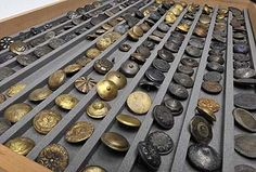 Museum of London unveils remarkable collection of buttons recovered from Thames