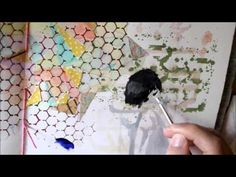 Art Journal Page - daydream - YouTube