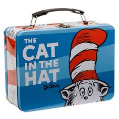 Cat in the Hat Large Tin Tote - Dr. Seuss