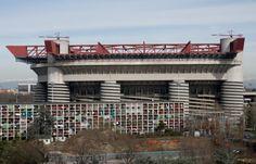 "MILAN  - EXTERIOR VIEW  ""MEAZZA"" STADION"