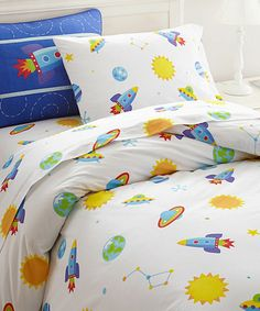 Love this Out of This World Duvet Cover by Olive Kids on #zulily! #zulilyfinds