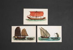 Vintage Ship Prints