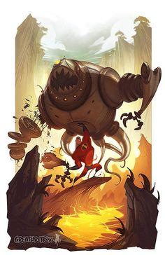 Cool Illustrations by Dave Guertin & Greg Baldwin   Cruzine