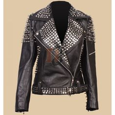 Britney Spears Till The World Ends Leather Jacket | Womens Stylish Jackets#leatherjackets #leatherjacket #leather #leatherjacketseason #leatherjacketswag #leatherjacketweather #leatherjacketph #fashion #leatherjacketsforwomen #leatherfashion #jackets #style #leatherjacketstyle #leatherjacketlove #hoodies #leatherjacketgang #leatherjacketmurah #leatherjacketsformen #leatherjacketformen #leatherjacketpainting #leatherjacketguy #leatherpants #leatherjacketforsale #leatherjacketclub #jacket… Spiked Leather Jacket, Studded Jacket, Leather Men, Distressed Leather, Jackets Uk, Stylish Jackets, Jackets For Women, Till The World Ends, Leather Jackets For Sale