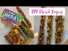 This week we have yet another DIY from TikTok. We are making our own Nerd Ropes that honestly taste even better than the ones you can . How To Make Homemade, Food To Make, Nerds Rope, Nerds Candy, Buy Edibles Online, Cannabis Edibles, Home Baking, Sweet Tarts, Candy Youtube