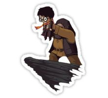 Harry Potter Lion King Crossover Sticker