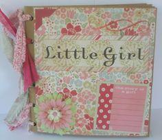 Little Girl paper kit book