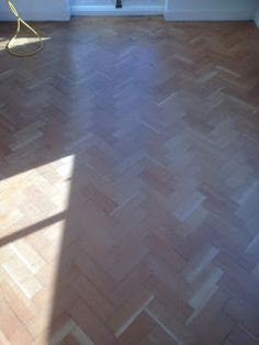 Wood Sanding and Finishing Cambridge UK: Parquet Pine and a touch of Oak