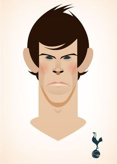 Stanley Chow Illustration of Manchester England Football Icon, Retro Football, Football Art, Football Players, Stanley Chow, Soccer Art, Tottenham Hotspur Fc, Manchester England, Celebrity Caricatures