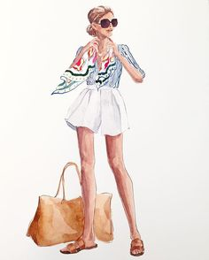 I think between The Beach Boys, The Beatles, The Rolling Stones and innumerable acts after that. rock music became a huge economic force. Fashion Illustration Sketches, Cute Illustration, Fashion Sketches, Foto Fashion, Fashion Art, Girl Fashion, Illustration Mignonne, Fashion Design Drawings, Designs To Draw