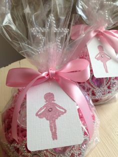 Ballerina Party favors by rizOHcollection on Etsy, $7.50