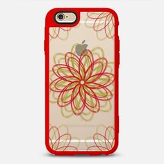 Flake 5 - New Standard Case @casetify #casetify #iphonecase #phonecase #phonecover #tech #christmas #holidays #winter #red #gold #clearcase #transparentcase #crystalclear