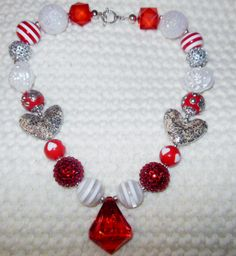 NECKLACE GIVEAWAY AT Lemon Lime Designz- Chunky Jewelry