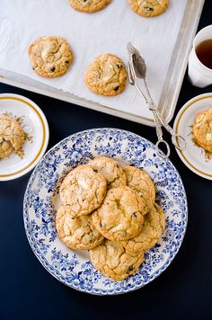 hazelnut blueberry cookies more chocolates salty white blueberry ...