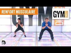 Cours gym : renfort musculaire 17 : Cuisses et fessiers avec un élastique - YouTube