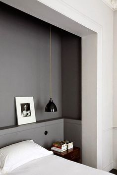 chambre gris anthracite