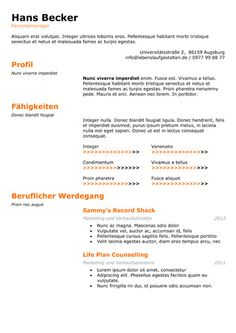 Achiever  Resume Templates    Template