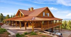 Barn Home Great Plains Gambrel Barn Home project by Sand Creek Post & Beam. View this gallery for ideas on your next dream barn. Barn House Kits, Barn House Plans, Barn Houses, Gambrel Barn, Horse Barn Plans, Rustic Exterior, Country Barns, Pole Barn Homes, Pole Barns