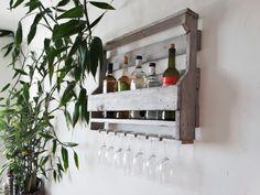 """Rangement vin ,bar maison ,meuble de bar ,bar en bois,armoire à vin,cave à vin de service ,cave de service """"Sonneries Nuit Blanche"""""""