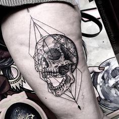 "112 Likes, 1 Comments - Calaveras y Diablitos Studio (@calaverasydiablitos.tattoo) on Instagram: ""By @rebecalopeztattoo bb.tattoo.bb@gmail.com www.facebook.com/rebecalopeztattoo #blxckink…"""