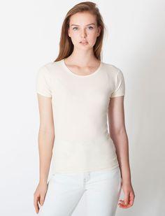 Organic Baby Rib Basic Short Sleeve T-Shirt. Basic Shorts, Organic Baby, American Apparel, Women Wear, T Shirts For Women, Hoodies, Tees, Mens Tops, Clothes