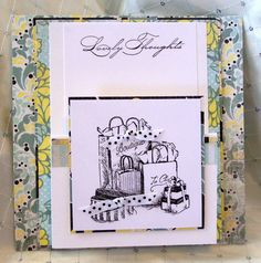 Lovely Thoughts Card by dawnasplace on Etsy