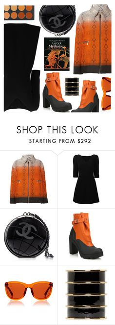 """""""."""" by the-reluctant-dragon ❤ liked on Polyvore featuring Moncler Gamme Rouge, Dolce&Gabbana, Chanel, Hunter, The Row and Balmain"""