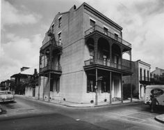Lafitte Guest House on Bourbon Street - 1950sVia Franck - Bertacci Photographers Collection