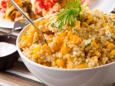 Perfect Use For Summer's Golden Gift – Sweet Corn Couscous Salad