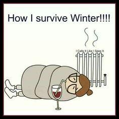 Hibernate #WineMemes #WineWednesday