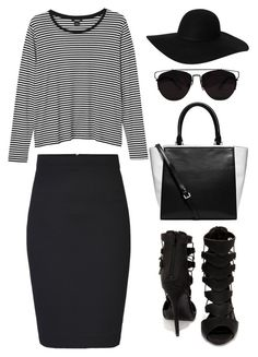 """#898"" by anna-annita ❤ liked on Polyvore featuring ONLY, Monki, Shoe Republic LA and Michael Kors"