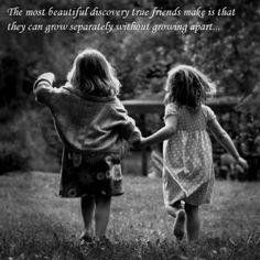 Awww so true. Nothing compares to a childhood friend. :-)